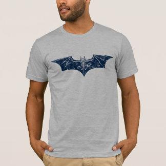 Bat Bones blue distressed T-Shirt