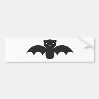 Bat Car Bumper Sticker