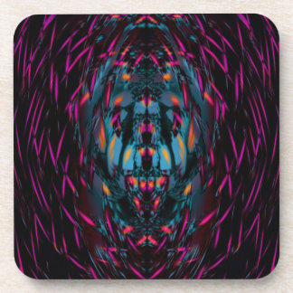 Bat Cave Abstract by Valxart.com Drink Coaster