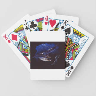 Bat Cave Haunting Bicycle Playing Cards