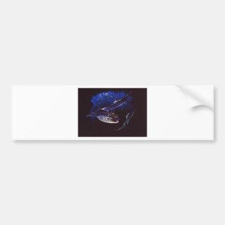 Bat Cave Haunting Bumper Sticker