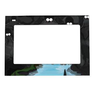 Bat Cave Photo Frame Magnet