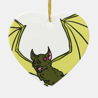 Bat Ceramic Ornament