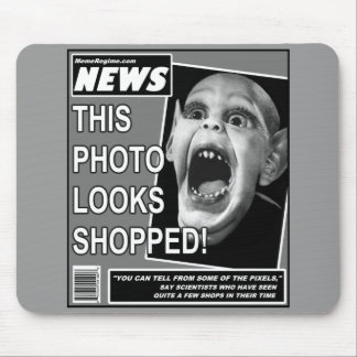 Bat Child Chicanery Mouse Pad
