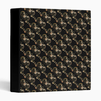 Bat Chinese Symbol 3 Ring Binder