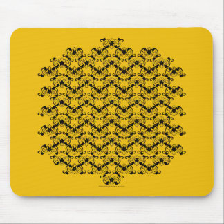 Bat Chinese Symbol Mouse Pad
