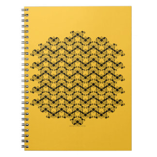 Bat Chinese Symbol Notebook