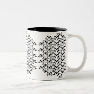 Bat Chinese Symbol Two-Tone Coffee Mug