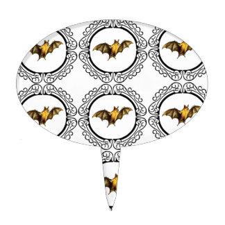 Bat Circles Cake Topper