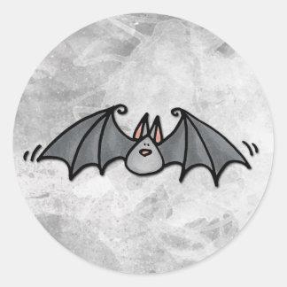 bat classic round sticker