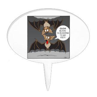 Bat Comedy Cake Topper
