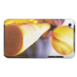 Bat contacting baseball iPod touch covers