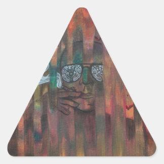 Bat Country Triangle Sticker