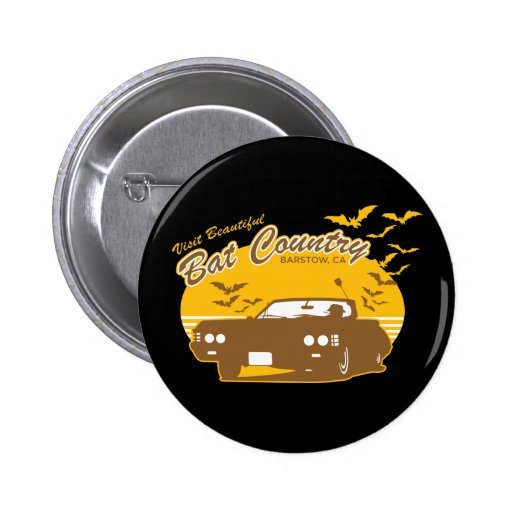 Bat Country - we can't stop here Pin