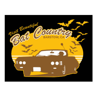 Bat Country - we can't stop here Postcard