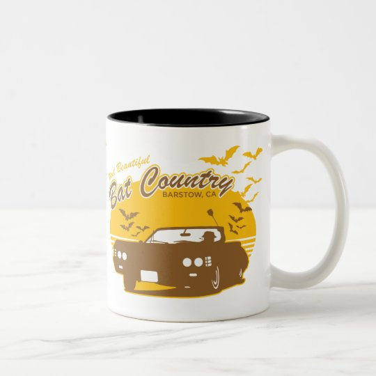 Bat Country - we can't stop here Two-Tone Coffee Mug