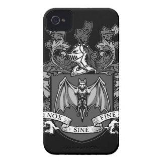 Bat Crest Grey - Blackberry Bold Case (Customize)