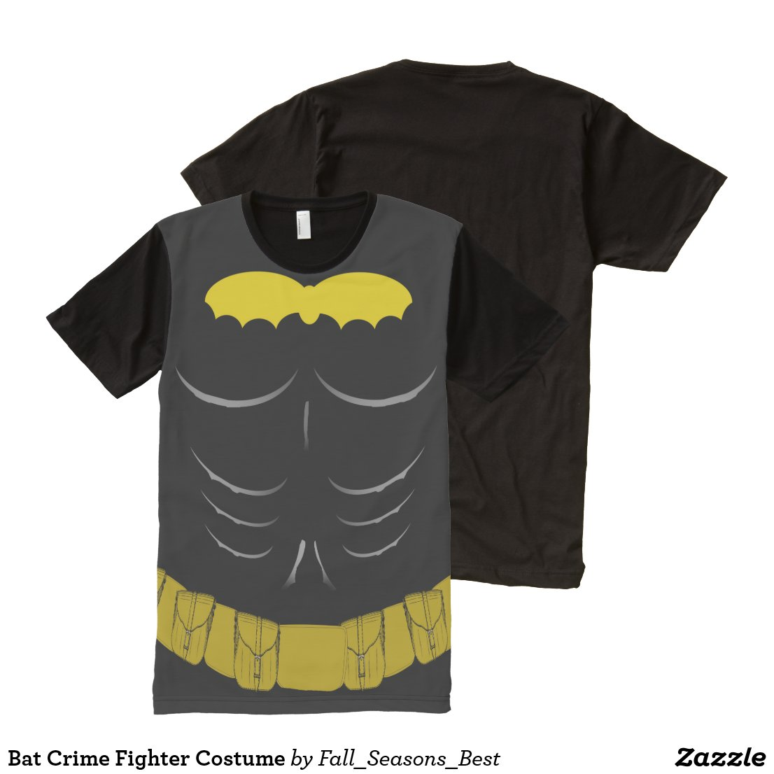Bat Crime Fighter Costume All-Over-Print T-Shirt