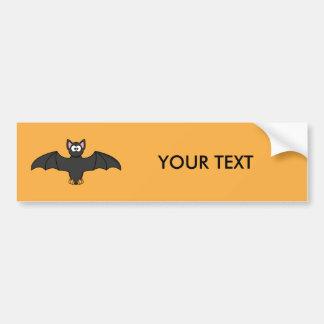 Bat Cute Cartoon Bumper Sticker