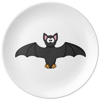 Bat Cute Cartoon Porcelain Plates