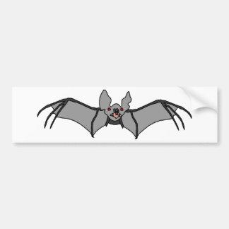 Bat design bumper sticker