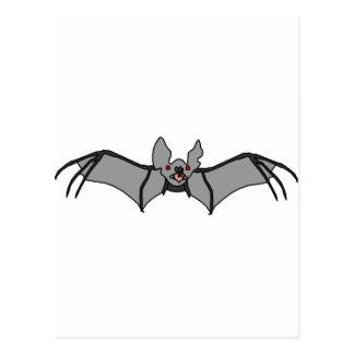 Bat design postcard