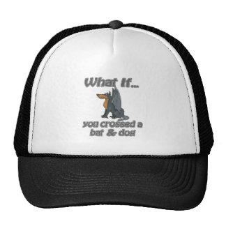 bat & dog trucker hat