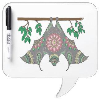 Bat Dry-Erase Board