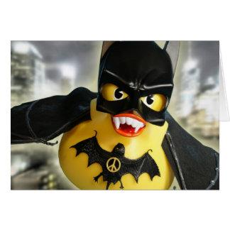Bat Ducky Rules! Card