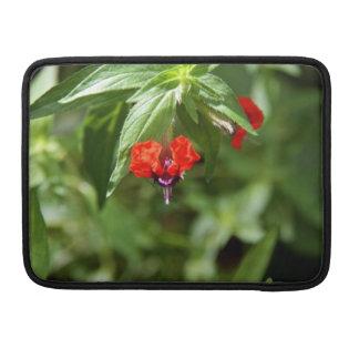 Bat Face Flower MacBook Sleeve