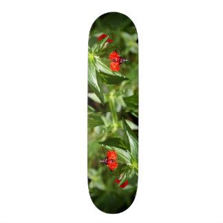 Bat Face Flower Skateboard