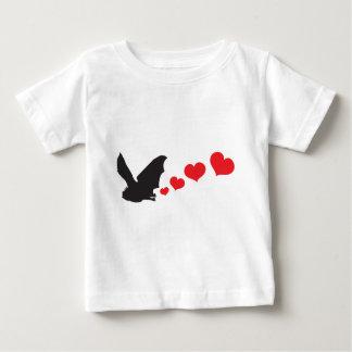 Bat farts Hearts Baby T-Shirt