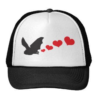 Bat farts Hearts Trucker Hat