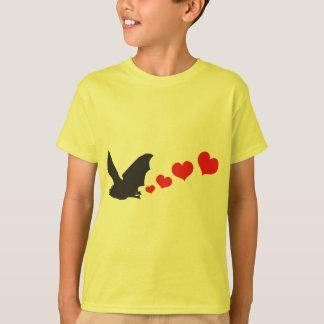 Bat farts Hearts T-Shirt