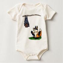 Bat Foxes Baby Bodysuit