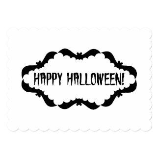 Bat Frame in Black and White Card