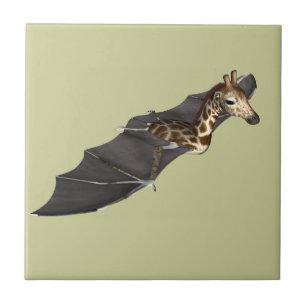 Bat Giraffe Hybrid Ceramic Tile