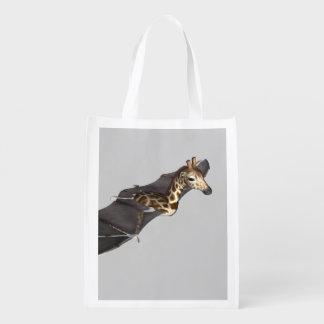 Bat Giraffe Hybrid Reusable Grocery Bag