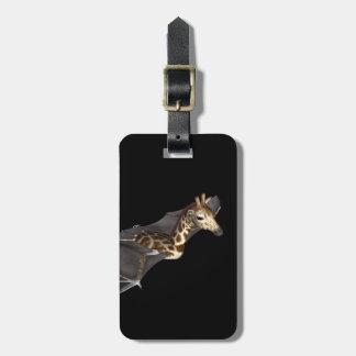 Bat Giraffe Hybrid Travel Bag Tag