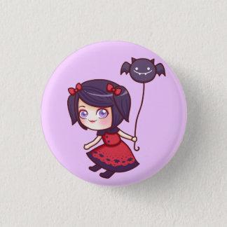 Bat Girl Button