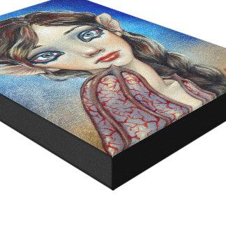Bat Girl Canvas Prints