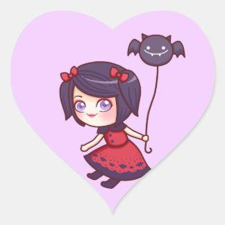 Bat Girl Sticker