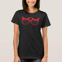 Bat glasses (#1B) T-Shirt