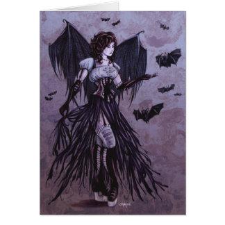 Bat Goddess Fantasy Art Card