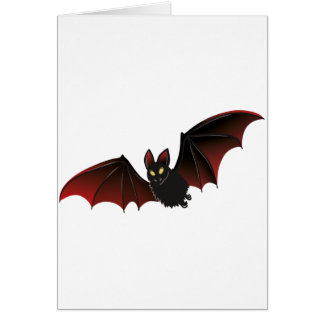 Bat Halloween Nice Card