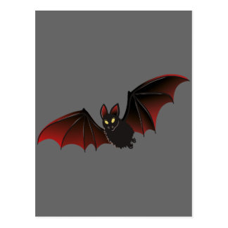 Bat Halloween Nice Postcard