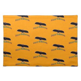 BAT HALLOWEEN Placemats Cloth Placemat