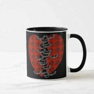 Bat Heart Mug