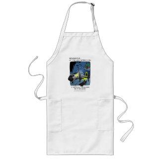 Bat HQ long apron