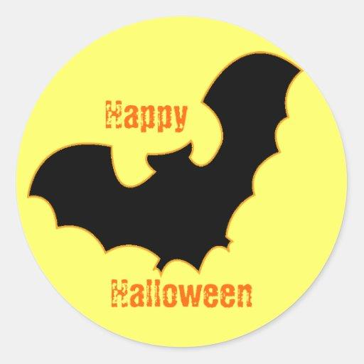 Bat In Moonlight Sticker